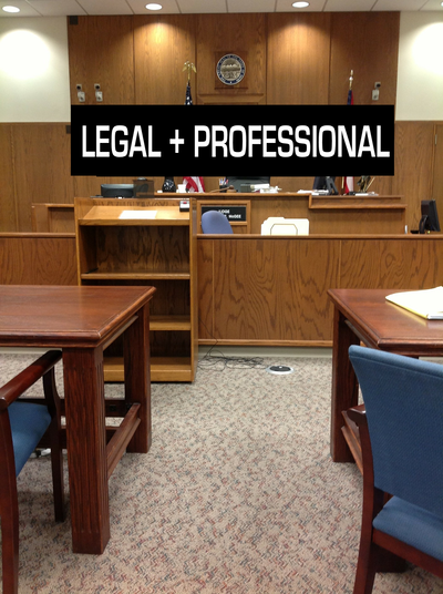 Legal & Professional services: Attorneys, Accountants, Realtors, Insurance, Financial planners and more.